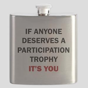 PARTICIPATION TROPHY Flask