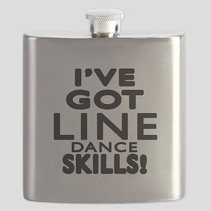 I Have Got Line Dance Skills Flask