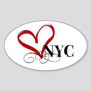 LOVE NYC FANCY Sticker