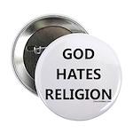 God Hates Religion Button