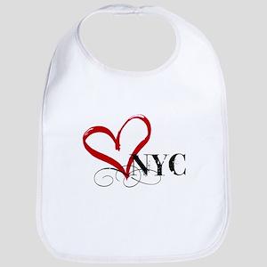 LOVE NYC FANCY Bib