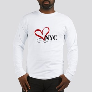 LOVE NYC FANCY Long Sleeve T-Shirt