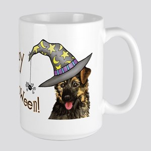 Halloween GSD Large Mug