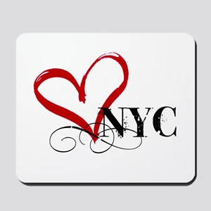 LOVE NYC FANCY Mousepad