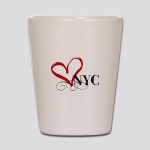 LOVE NYC FANCY Shot Glass