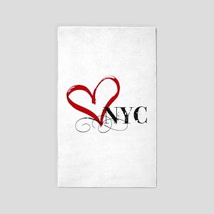 LOVE NYC FANCY Area Rug