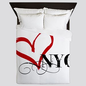 LOVE NYC FANCY Queen Duvet