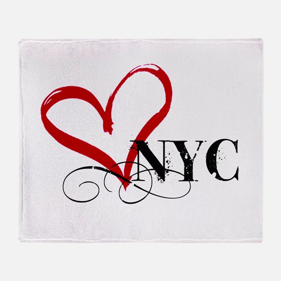 LOVE NYC FANCY Throw Blanket