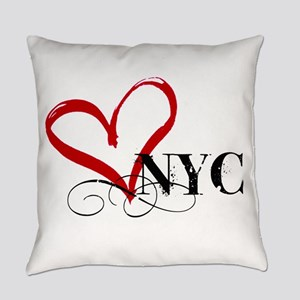 LOVE NYC FANCY Everyday Pillow