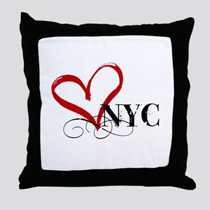 LOVE NYC FANCY Throw Pillow