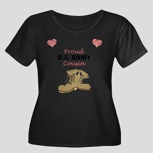 Proud US Army Cousin Plus Size T-Shirt