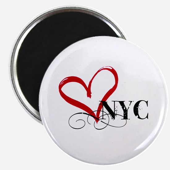 LOVE NYC FANCY Magnets
