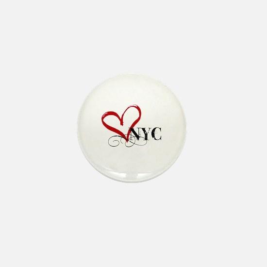 LOVE NYC FANCY Mini Button