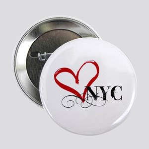"LOVE NYC FANCY 2.25"" Button"