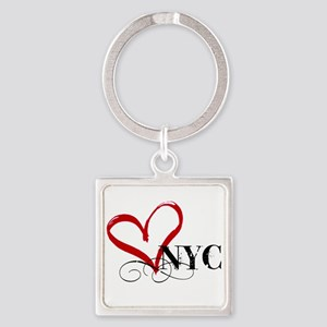 LOVE NYC FANCY Keychains