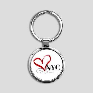 LOVE NYC FANCY Keychains