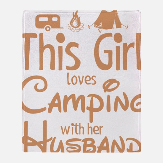 Unique Camper Throw Blanket