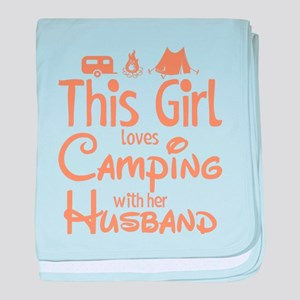 Camping baby blanket