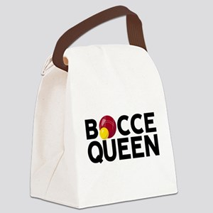 Bocce Queen Canvas Lunch Bag