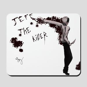 jeff the killer Mousepad