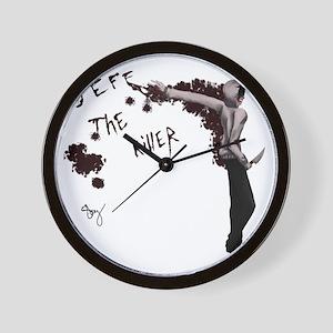 jeff the killer Wall Clock