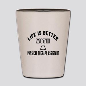 Physical Therapy Assistant Designs Shot Glass