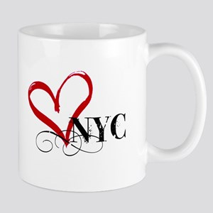 LOVE NYC FANCY Mugs