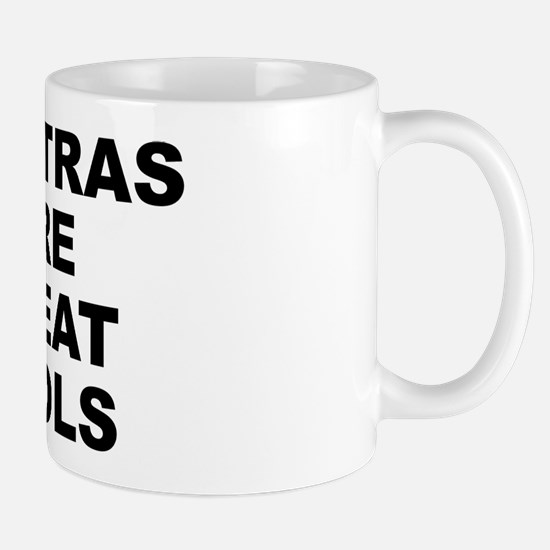 Mantras Are Great Tools Small White Mug Mugs