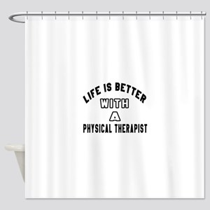 Physical Therapist Designs Shower Curtain