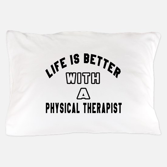 Physical Therapist Designs Pillow Case