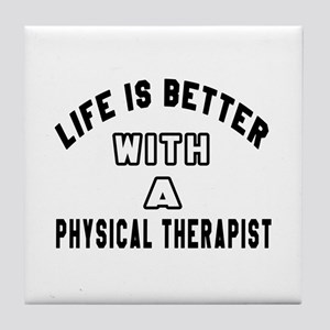 Physical Therapist Designs Tile Coaster
