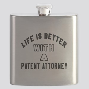 Patent Attorney Designs Flask