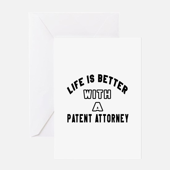 Patent Attorney Designs Greeting Card