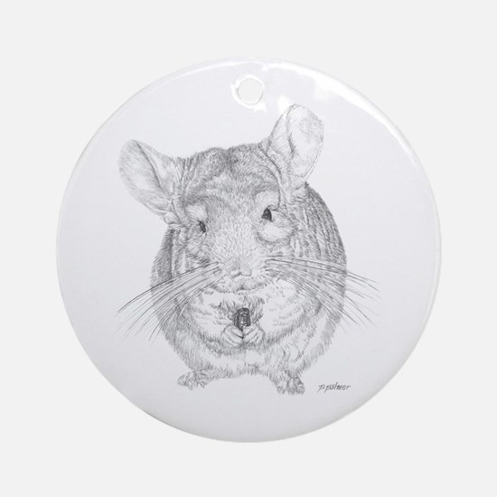Peanut Ornament (Round)