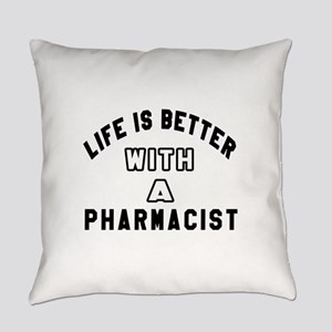 Pharmacist Designs Everyday Pillow