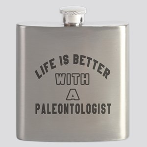Paleontologist Designs Flask