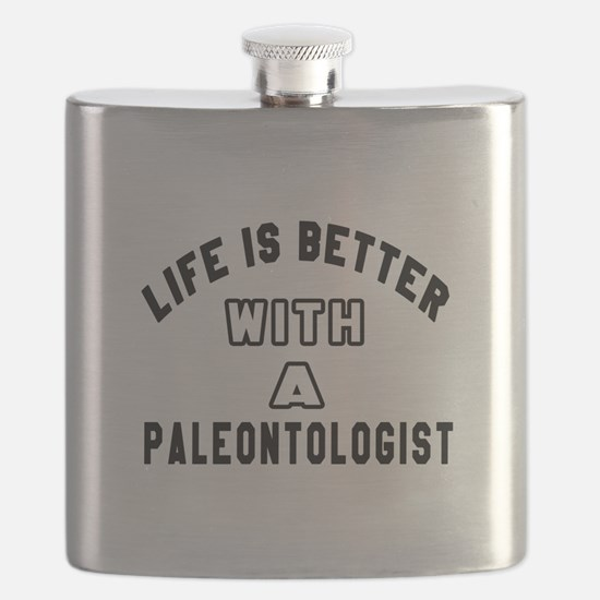 Paleontologist Designs Flask