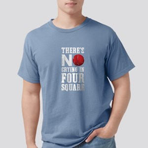 No Crying In Four Square T-Shirt