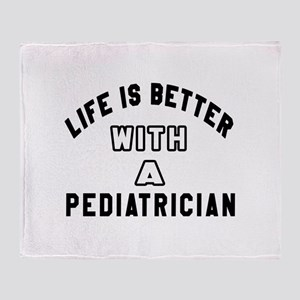 Pediatrician Designs Throw Blanket