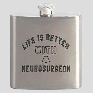 Neurosurgeon Designs Flask