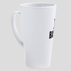 I Love Baseball 17 oz Latte Mug