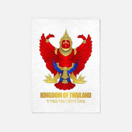 Thai Garuda 5'x7'Area Rug