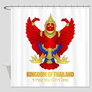 Thai Garuda Shower Curtain
