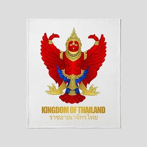 Thai Garuda Throw Blanket