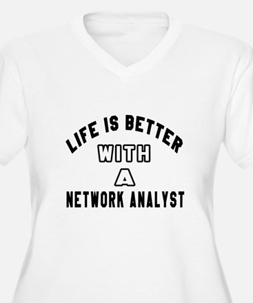 Network Analyst D T-Shirt