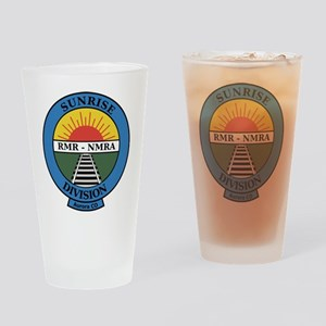 NMRA Sunrise Div Drinking Glass