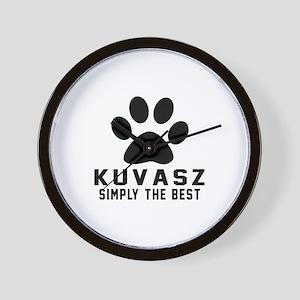 Kuvasz Simply The Best Wall Clock