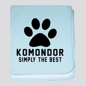 Komondor Simply The Best baby blanket