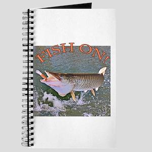 Fish on musky Journal