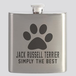 Jack Russell Terrier Simply The Best Flask